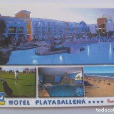 Postales: POSTAL DEL HOTEL PLAYABALLENA . ROTA ( CADIZ ).. Lote 133697566