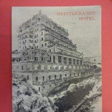 Postales: MEDITERRANEO HOTEL. PALMA DE MALLORCA. ISLAS BALEARES. Lote 133823046