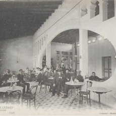 Postales: P- 8647. POSTAL GRAN BALNEARIO VICHY CATALAN. CAFE.. Lote 135299030