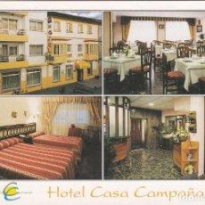 Postales: POSTAL HOTEL CASA CAMPAÑA. O GROVE (PONTEVEDRA) - POSTALES FAMA. Lote 180196360