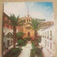 Postales: ANTIGUA POSTAL DEL BALNEARIO DE ARCHENA (MURCIA). CAPILLA Y PLAZA.. Lote 139245654