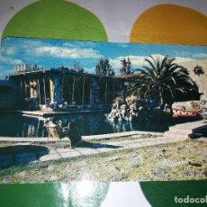 Postales: HOTEL LA CALDERA. MÉXICO. COMEDOR Y ALBERCA. HD. Lote 139493254