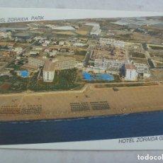 Postales: POSTAL DEL HOTEL ZORAIDA GARDEN Y ZORAIDA PARK . ROQUETAS DE MAR ( ALMERIA ). Lote 139684290
