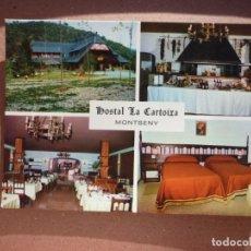 Postales: HOSTAL LA CARTOIXA - MONTSENY . Lote 140044890
