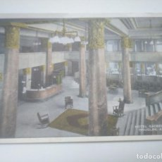 Postales: POSTAL 1929 HOTEL GADSEN LOBBY DOUGLAS, ARIZONA. ENVIADA A SAN SEBASTIÁN GIPUZKOA. Lote 143582482