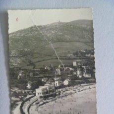 Postales: POSTAL DE LA PLAYA Y HOTEL MIRAMAR DE CASTRO URDIALES , AÑOS 50. ESCRITA EN 1960. Lote 143730690