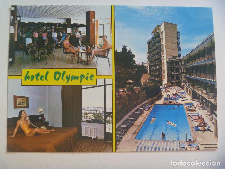 POSTAL DEL HOTEL OLYMPIC , DE PALMA NOVA , MALLORCA (Postales - Postales Temáticas - Hoteles y Balnearios)