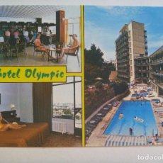 Postales: POSTAL DEL HOTEL OLYMPIC , DE PALMA NOVA , MALLORCA. Lote 146686990