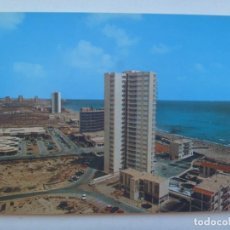 Postales: POSTAL DE LA MANGA DEL MAR MENOR ( MURCIA ) : ZONA COMERCIAL Y TORRE VARADERO . AÑOS 60.. Lote 146793342