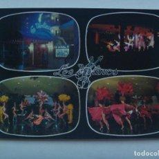 Postales: POSTAL LOS VIOLINES, RESTAURANTE- NIGHT CLUB, CONJUNTO RESIDENCIAL LAS ESTRELLAS, TORREMOLINOS ´70. Lote 147213646