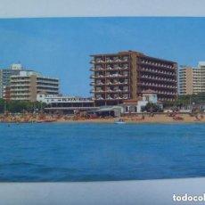 Postales: POSTAL DE MALLORCA : EL ARENAL , PLAYA DE PALMA . AÑOS 60, HOTEL OBELISCO, ETC.. Lote 147264910