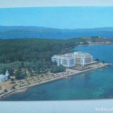 Postales: POSTAL DE LA TOJA ( PONTEVEDRA ) : VIATA AERE . GRAN HOTEL. Lote 147384126