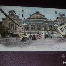 Postales: HOTEL / RESTAURANTE - ANTIGUA POSTAL 17VICHY - LE CASINO - G.D. 14X9 CM. . Lote 153069718