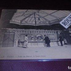 Postales: HOTEL / RESTAURANTE - ANTIGUA POSTAL 138 VICHY PALAIS DES SOURCES , LA SOURCE LUCAS - 14X9 CM. . Lote 153070270