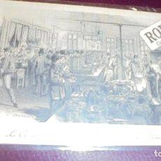 Postales: HOTEL / RESTAURANTE - LA CUISINE DU PETIT RAMPONNEAU Á LA BARRIÉRE ROCHECHOUART 14X9 CM. . Lote 153072850