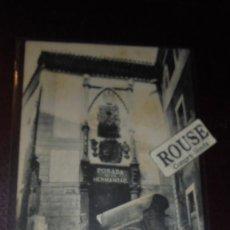 Postales: HOTEL / RESTAURANTES -TOLEDO POSADA DE LA HERMANDAD FOTO C. GARCES REVERSO SIN DIVIDIR 14X9 CM. . Lote 153101614