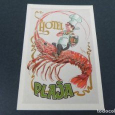 Postales: HOTEL PLAJA - BEGUR (GIRONA) - SIN CIRCULAR. Lote 153672062