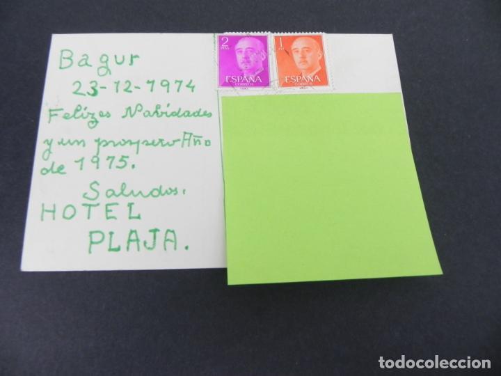 Postales: HOTEL PLAJA - BEGUR (Gerona) (CIRCULADA) - Foto 2 - 153672230