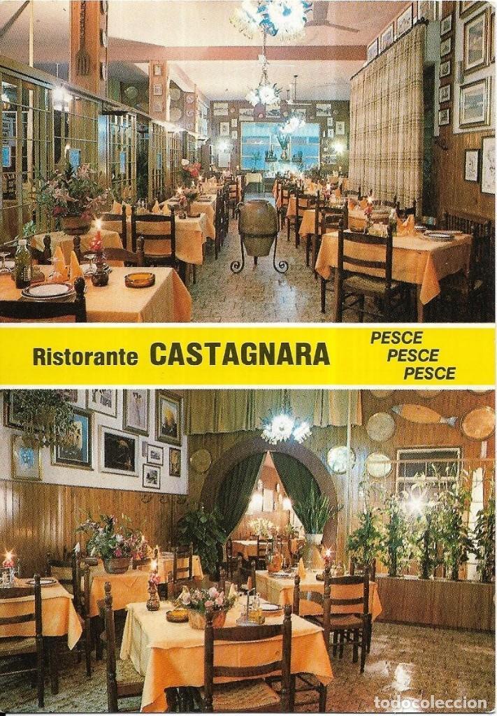 == B765 - POSTAL - RISTORANTE CASTAGNARA (Postales - Postales Temáticas - Hoteles y Balnearios)