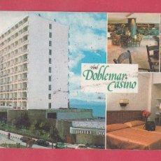 Postales: HOTEL POSTAL GIGANTE NO NORMALIZADA 230 X110 HOTEL DOBLE MAR CASINO LA MANGA MURCIA PE02314. Lote 154483570