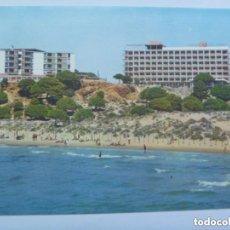 Postales: POSTAL DEL HOTEL SALOU PARK , PLAYA DE LAZARETO. SALOU , COSTA DORADA. Lote 154738078