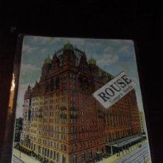 Postales: HOTELES - ANTIGUA POSTAL C.V.-WALDORF ASTORIA HOTEL , NEW-YORK - 14X9 CM. REVERSO SIN DIVIDIR . Lote 154930202
