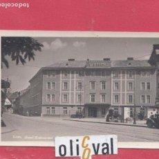 Postales: HOTEL POSTAL HOTEL STEIRERHOF GRAS FOTOGRAFICA VALOG FRANZ PE02462. Lote 154941082