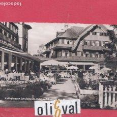Postales: HOTEL POSTAL KAFFEETERASSE SCHWRZWALD HOTEL TITISEN FOTOGRAFICA PE02462. Lote 154942014