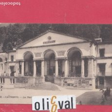 Postales: HOTEL POSTAL HOTEL LES THERMES DE CESAR CAUTERETS FRANCE F PE02466. Lote 154995774