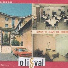 Postales: HOTEL POSTAL CASA S.JUAN DE RIBERA PE0248. Lote 154004578