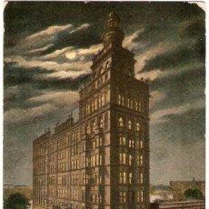 Postales: EDIFICIOS SINGULARES, TOLEDO, OHIIO, NASBY BUILDING, CIRCULADA CON SU SELLO. Lote 155432462