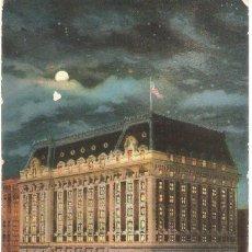 Postales: EDIFICIOS SINGULARES, CINCINNATI, OHIO, SINTON HOTEL, CIRCULADA CON SU SELLO. Lote 155433198