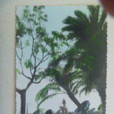 Postales: POSTAL DEL HOTEL MIRAMAR ( MALAGA ) : COSTA DEL SOL . PISCINA . AÑOS 50. Lote 155953550