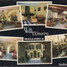 Postales: POSTAL HOTEL LEPANTO SELLER SES BOVEDES PALMA DE MALLORCA. Lote 155996078