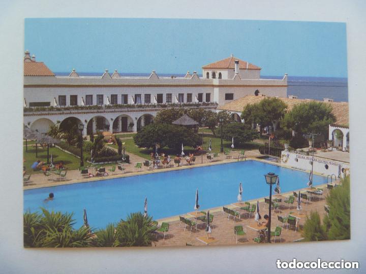 POSTAL DEL HOTEL PLAYA DE LA LUZ DE ROTA ( CADIZ ) . AÑOS 60 (Postales - Postales Temáticas - Hoteles y Balnearios)