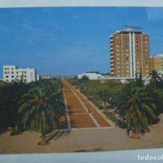 Postales: POSTAL DE SANLUCAR DE BARRAMEDA ( CADIZ ): CALZADA Y HOTEL GUADALQUIVIR . AÑOS 60.. Lote 157922838
