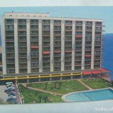Postales: POSTAL DE TORREMOLINOS ( MALAGA ): HOTEL - APARTAMENTOS ¨ TORRE DE LA ROCA ¨ . AÑOS 60. Lote 160336126