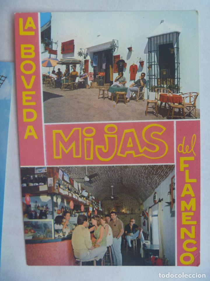POSTAL DE LA COSTA DEL SOL , MIJAS : LA BOVEDA DEL FLAMENCO , BAR HOLANDES (Postales - Postales Temáticas - Hoteles y Balnearios)