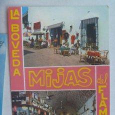 Postales: POSTAL DE LA COSTA DEL SOL , MIJAS : LA BOVEDA DEL FLAMENCO , BAR HOLANDES. Lote 160536034