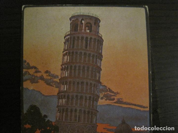 Postales: HOTEL NETTUNO-TORRE DE PISA-POSTAL ANTIGUA-VER FOTOS-(58.891) - Foto 3 - 161159566