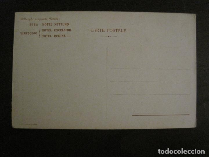 Postales: HOTEL NETTUNO-TORRE DE PISA-POSTAL ANTIGUA-VER FOTOS-(58.891) - Foto 4 - 161159566