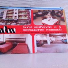 Postales: POSTAL. HOTEL - RESTAURANTE. MARIANO. CÓRDOBA 1988. Lote 162370941
