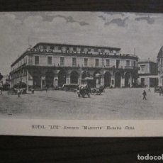 Postales: HABANA-CUBA-GRAN HOTEL DE LUZ-ANTIGUO MASCOTTE-POSTAL ANTIGUA-VER FOTOS(59.138). Lote 162637758