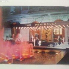 Postales: HOTEL PENÍNSULA: HONG KONG.SIN CIRCULAR. Lote 226286060