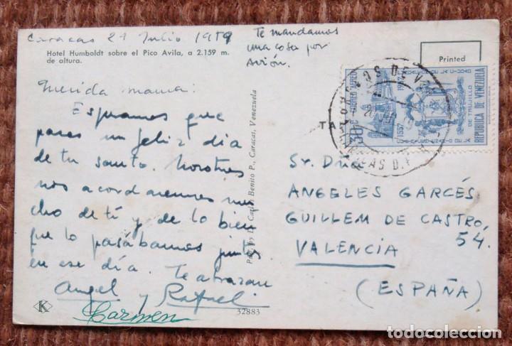 Postales: HOTEL HUMBOLDT - CIRCULADA DE VENEZUELA A ESPAÑA - Foto 2 - 171580983