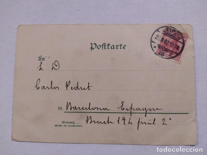 Postales: HOTEL HAUFFE-LEIPZIG-POSTAL PUBLICIDAD HOTEL-VER REVERSO-(61.517) - Foto 3 - 174102040