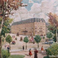 Postales: HOTEL HAUFFE-LEIPZIG-POSTAL PUBLICIDAD HOTEL-VER REVERSO-(61.517). Lote 174102040
