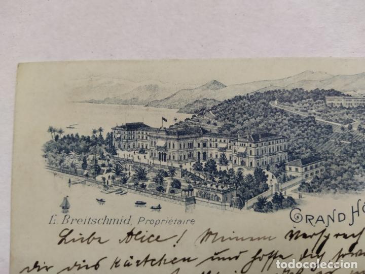 Postales: GRAND HOTEL BELLAGIO-CIRCULADA 1895-REVERSO SIN DIVIDIR-POSTAL PUBLICIDAD HOTEL-VER REVERSO-(61.519) - Foto 2 - 174102129