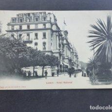 Postales: LUCERNA LUZERN SUIZA GRAN HOTEL NACIONAL. Lote 175263939