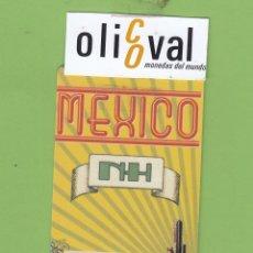 Postales: TARJETA HOTEL NH DEDICADA A MEXICO CALMELL GRUP TH099. Lote 175522855